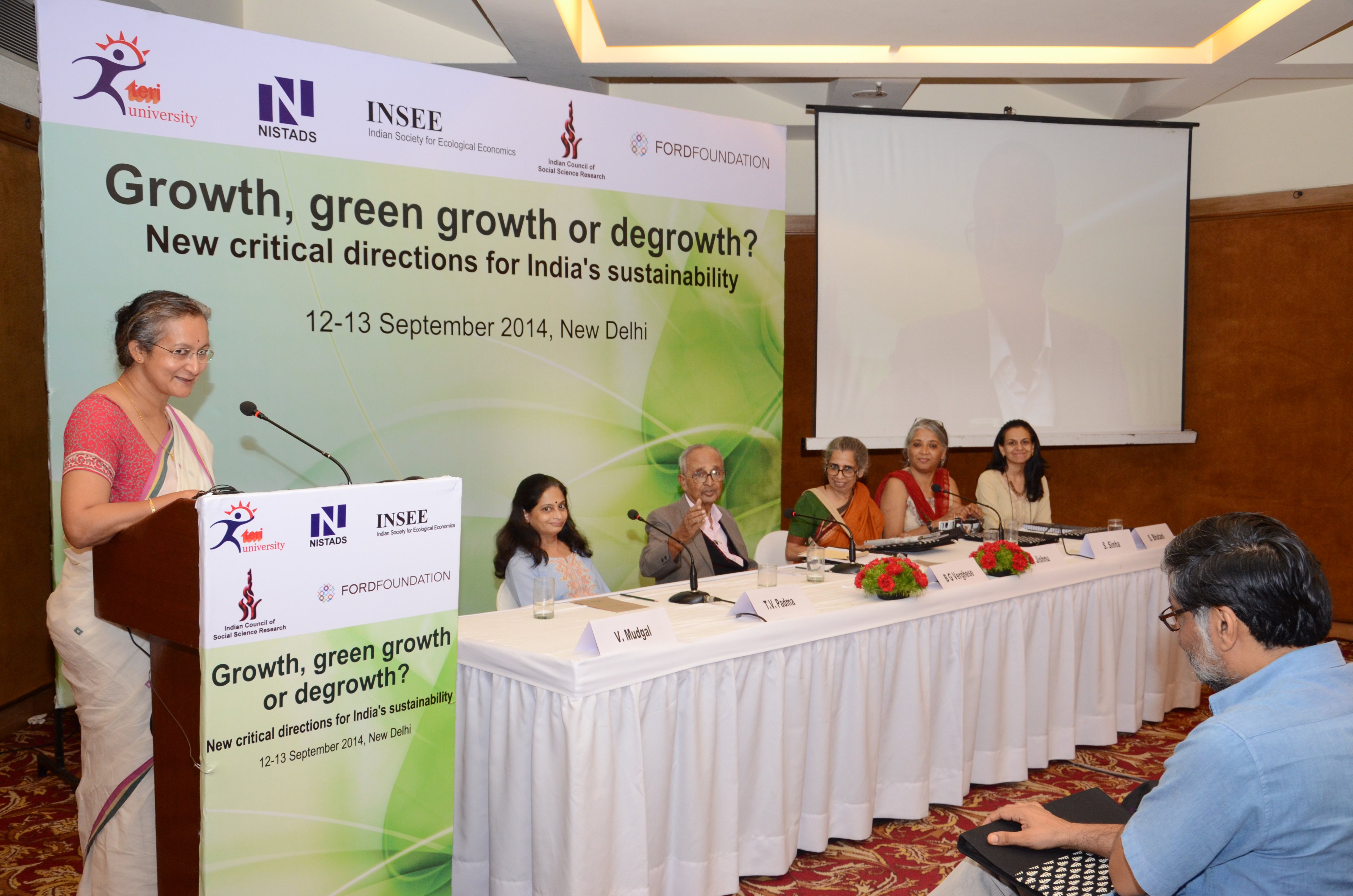 First Degrowth Symposium in India - 12&13th Sept, New Delhi