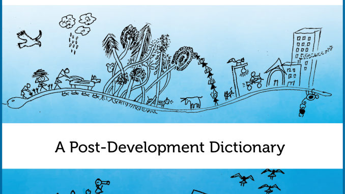 new book pluriverse a post development dictionary research